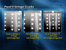 Panel 6 Stringer Cracks