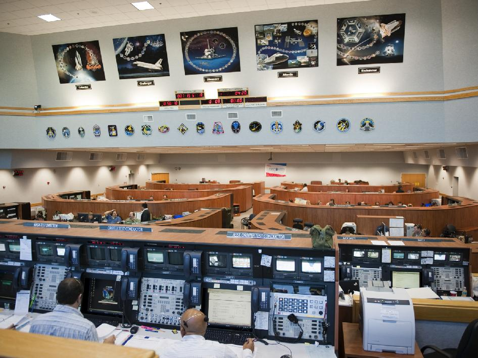 Firing Room 4 in the Launch Control Center