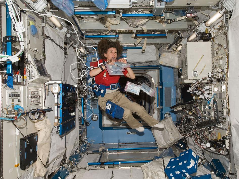 Astronaut Catherine Coleman