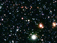 massive cluster of young galaxies forming in the distant universe