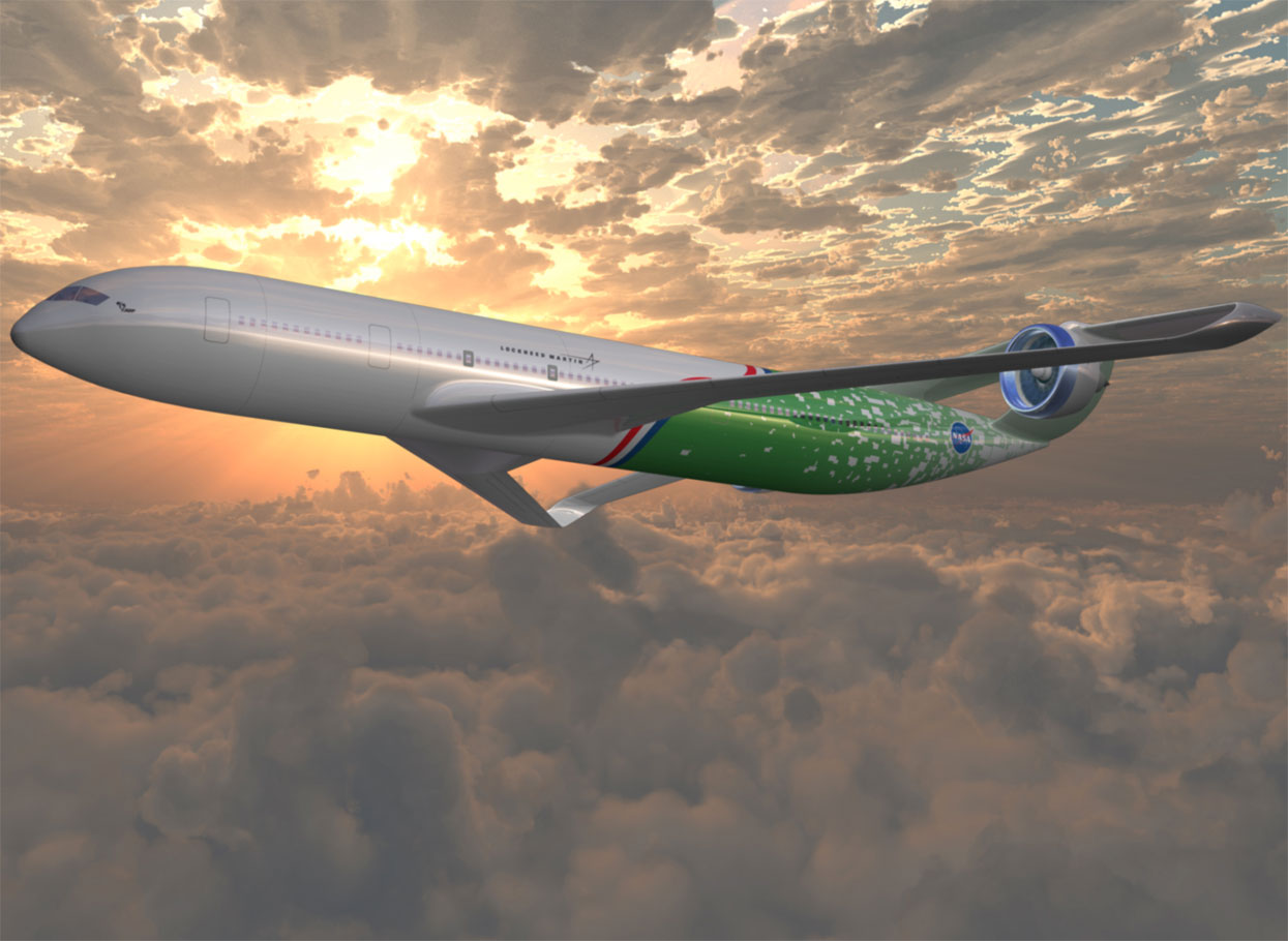 Así serán los aviones de 2025, según la Nasa 509925main_lockheed_avc_1245x910