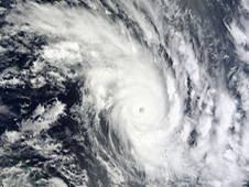 NASA's Terra satellite captured a visible image of Tropical Storm Zelia heading for New Zealand