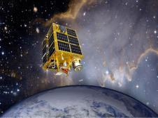 Artist rendition of FASTSat spacecraft