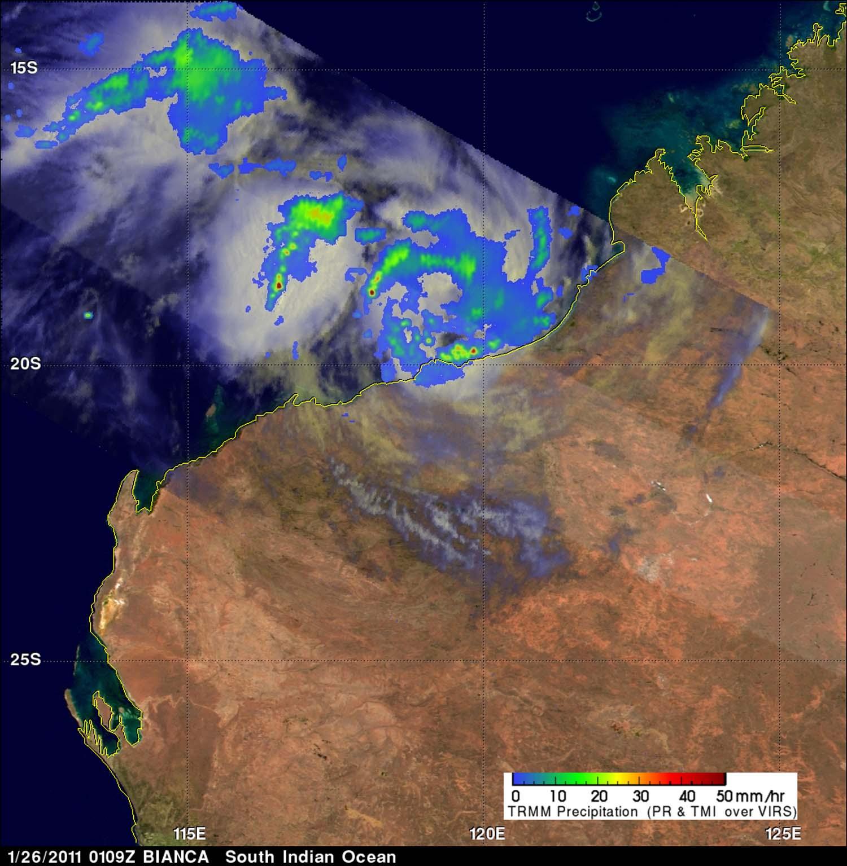 NASA - Hurricane Season 2011: Tropical Storm Bianca ...