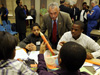 NASA Administrator Bolden with students in Richmond, VA. Credit: NASA/Paul Alers
