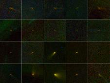 20 comets discovered by the NEOWISE mission