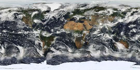 Une première : un satellite permettra d'observer la Terre en temps réel