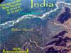 Terrain near the Ganga River in Bihar, India