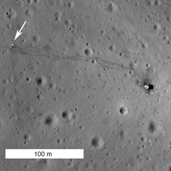 NAC image of the Apollo 14 landing site