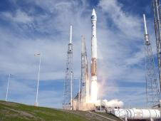 the Solar Dynamics Observatory (SDO) is launched into space on an Atlas V-401 from Cape Canaveral.