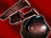 Artist concept of Stardust-NExT and comet Tempel 1 covered in chocolate for the spacecraft's encounter on February 14, 2011.