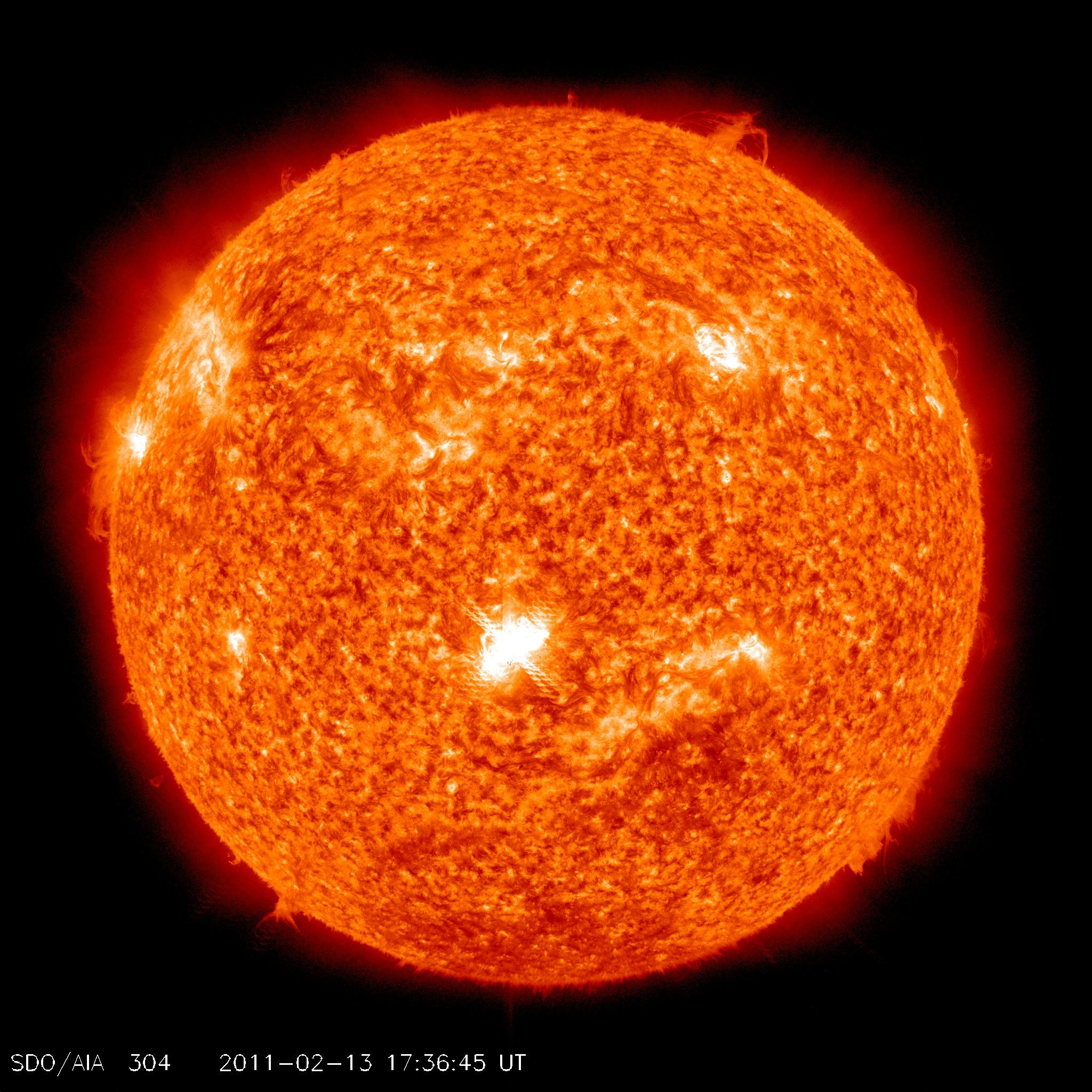 NASA - Earth-Directed Solar Flare