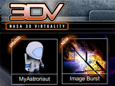 NASA 3DV Virtuality interactive feature