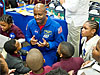 Leland Melvin celebrates Black History Month with students at Ferebee-Hope Elementary School in southeast Washington, D.C.