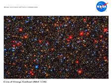 The Core of Omega Centauri (NGC 5139) lithograph