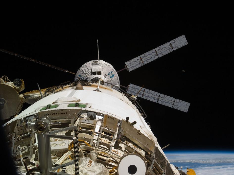 NASA - Johannes Kepler Docks to Station