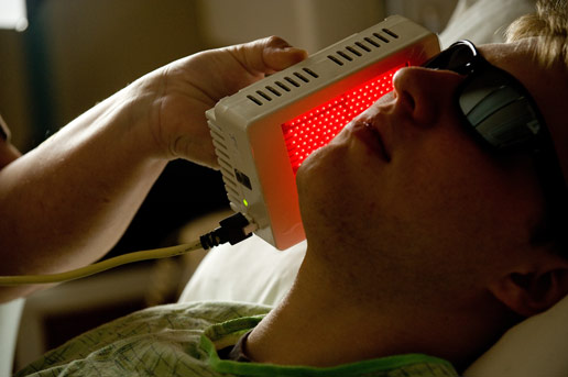NASA - NASA Light Technology Successfully Reduces Cancer Patients' Painful Side Effects from ...