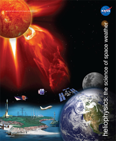 Image showing technology and infrastructure that can be affected by space weather events.