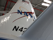 Over the last several weeks, NASA's P-3B aircraft was loaded with instruments designed to make remote sensing measurements over polar land ice and sea ice.