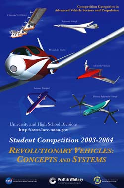 image of poster for revolutionary flying contest