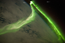 Aurora Australis Observed from the International Space Station: Astronaut photograph of the aurora was acquired on May 29, 2010.