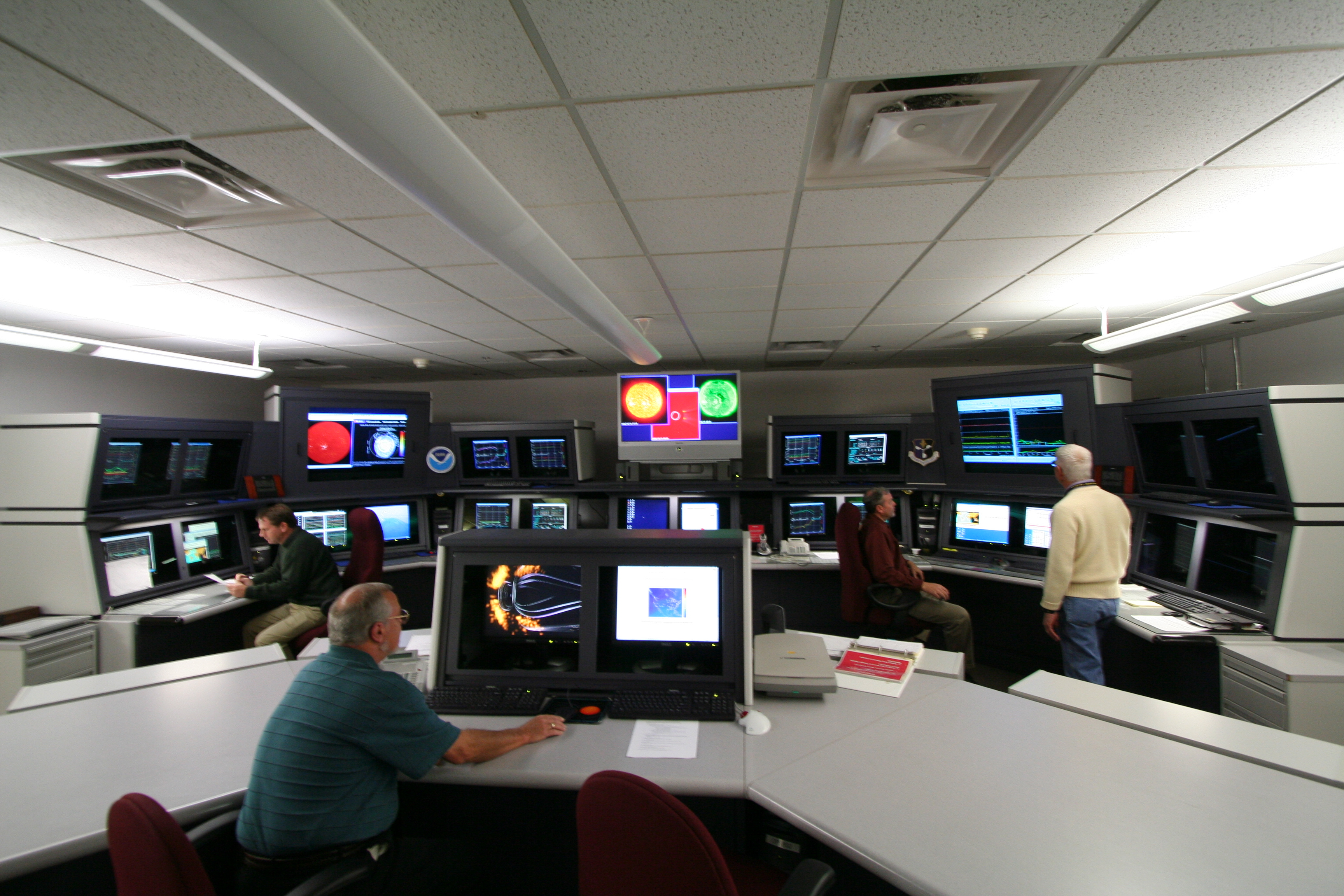 space weather prediction center  air