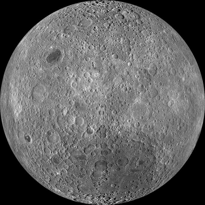 image of lunar far side