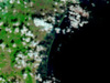 Flood damage in Japan seen by MODIS on NASA's Terra spacecraft