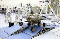 Testing a Mars Exploration Rover