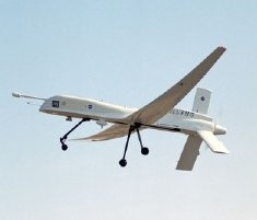 The Altus unmanned aerial vehicle.     Image courtesy NASA.
