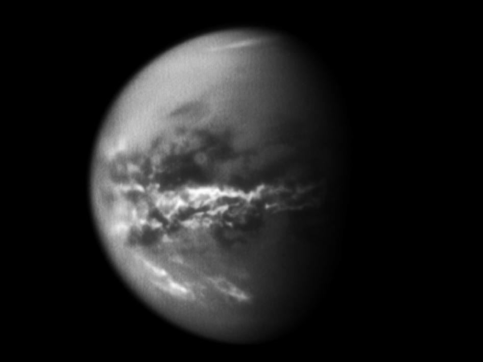 Equatorial Titan Clouds