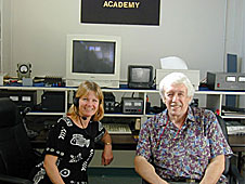 Nancy Rocheleau and Dick Flagg