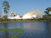 Orbital successfully tested the Aerojet AJ26 engines at NASA's south Mississippi test facility on March 19.