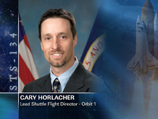 Gary Horlacher, Lead Shuttle Flight Director - Orbit 1