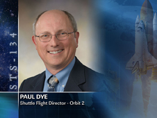 Paul Dye, Shuttle Flight Director - Orbit 2