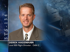Derek Hassmann, Lead ISS Flight Director - Orbit 2