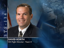 David Korth, ISS Flight Director - Team 4