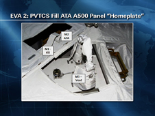 EVA 2: PVTCS Fill ATA A500 Panel Homeplate
