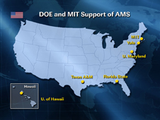 DOE and MIT Support of AMS
