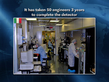 It has Taken 50 Engineers 3 Years to Complete the Detector
