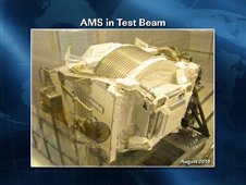 AMS in Test Beam