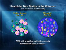 Search for New Matter in the Universe