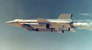 X-15 with Ramjet Engine