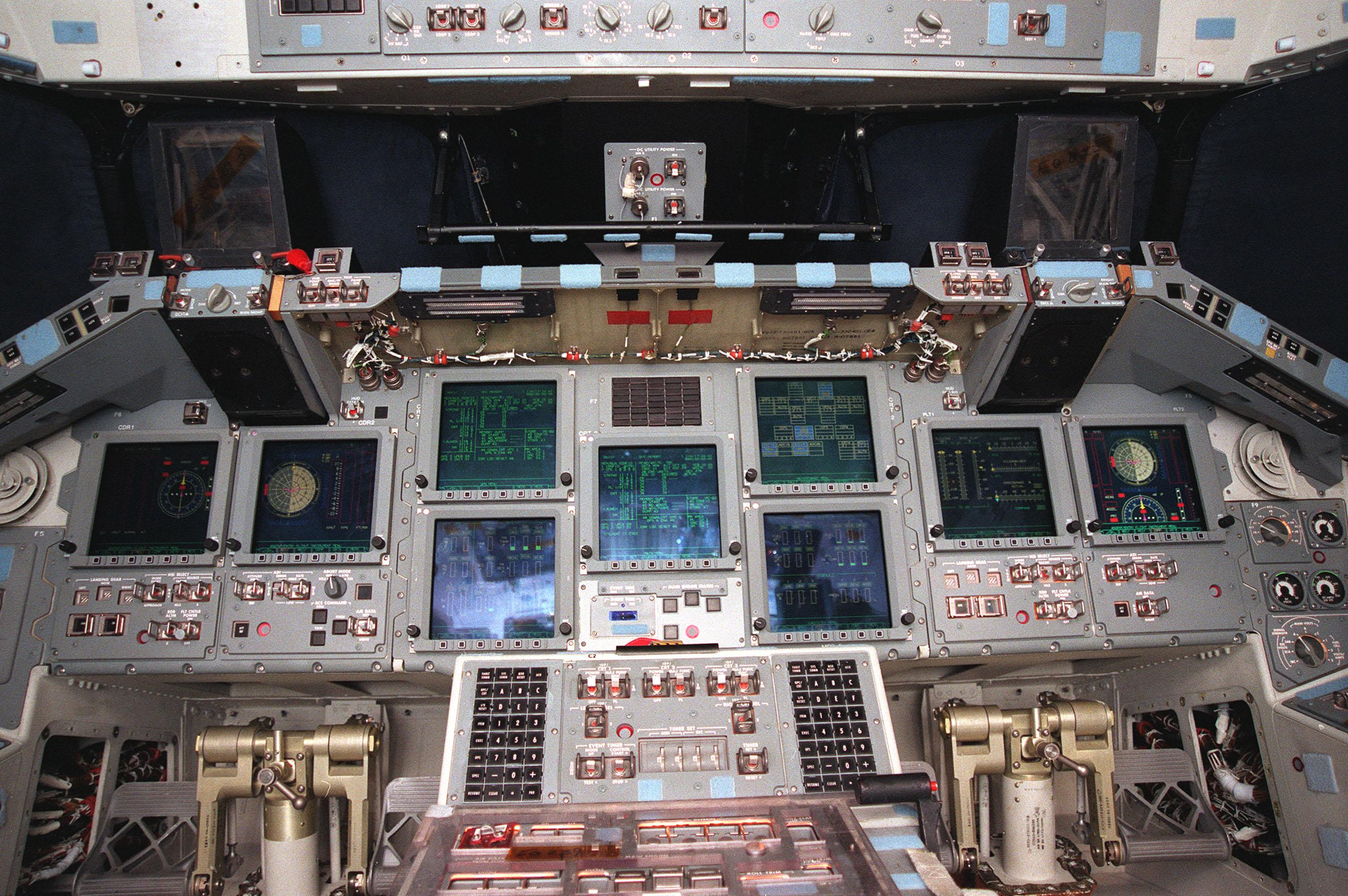 space shuttle home cockpit - photo #19