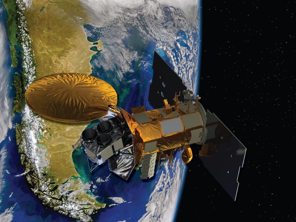Fotos del lanzamiento del satelite Argentino Aquarius
