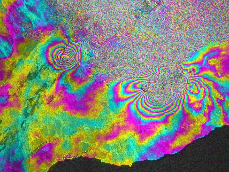 Satellite radar captures eruption of Hawaii's Kilauea volcano