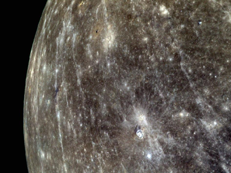 Image from Orbit of Mercury:Mercury's Colorful Limb