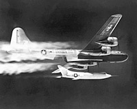 D-558-2 launch from B-29 mothership