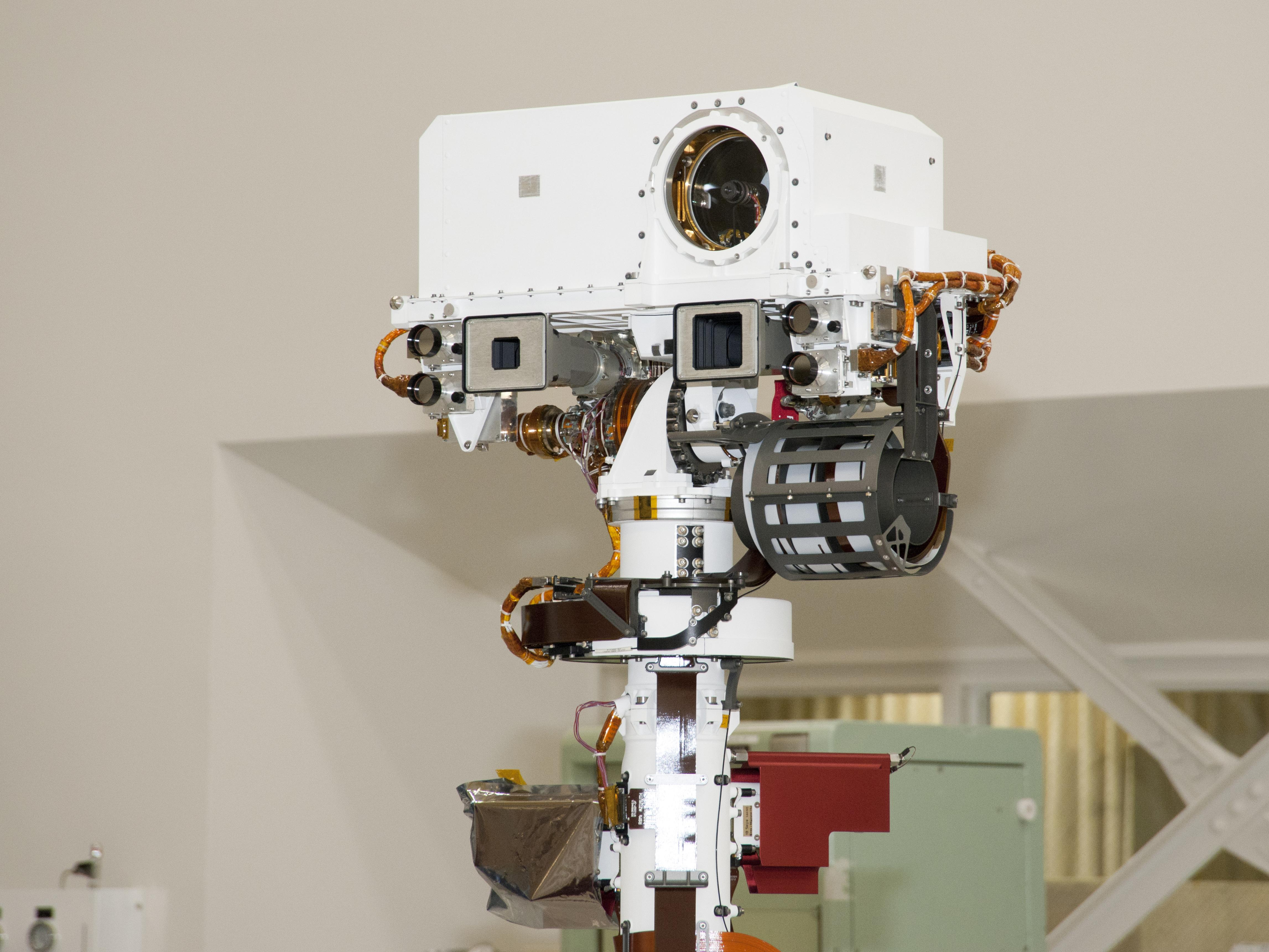 Curiosity Rover Sensor (page 3) - Pics about space