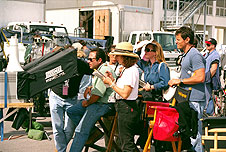 Filming 'Armageddon' at Kennedy
